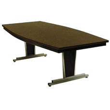 Customizable Boat Shaped Director Conference Table - 45-60