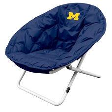University of Michigan Team Logo Folding Sphere Chair