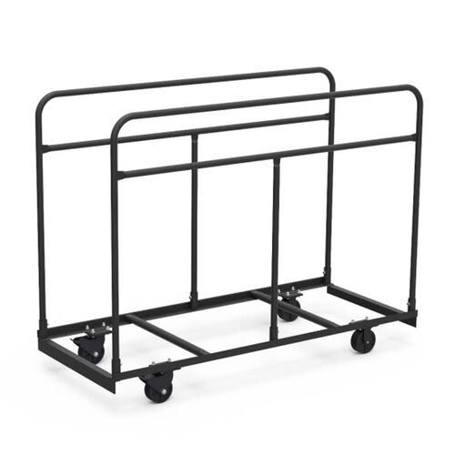Our Quick Ship Round Folding Table Truck - 30