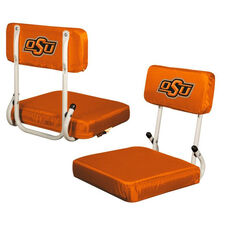 Oklahoma State University Team Logo Hard Back Stadium Seat