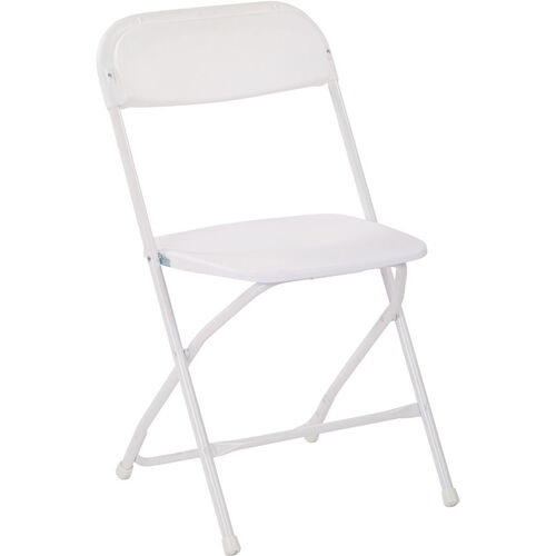 Our Work Smart Plastic Folding Chair - Set of 4 - White is on sale now.