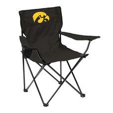 University of Iowa Team Logo Folding Quad Chair