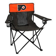 Philadelphia Flyers Team Logo Elite Folding Chair