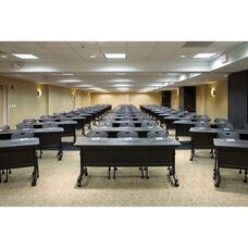 24'' x 72'' Rectangle Multi-App Mobile Folding Seminar Table