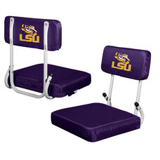 Louisiana State University Team Logo Hard Back Stadium Seat