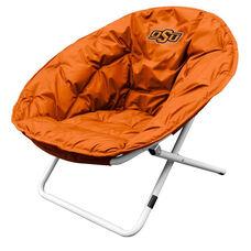 Oklahoma State University Team Logo Folding Sphere Chair