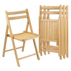 Folding Chairs-Set of 4