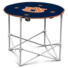 Auburn University Team Logo Round Folding Table