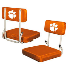 Clemson University Team Logo Hard Back Stadium Seat