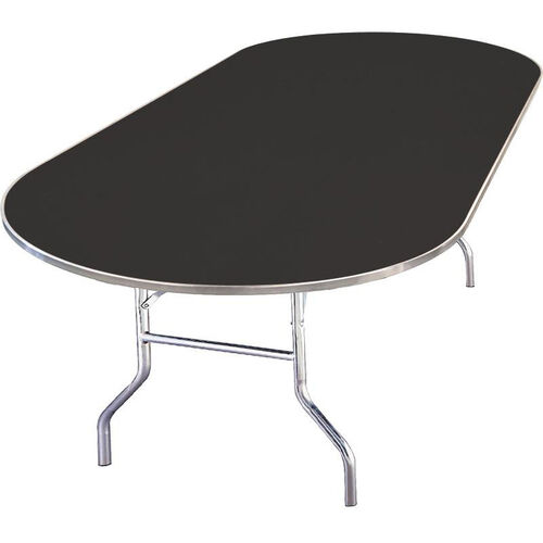Our Standard Series Race Track Banquet Table with Laminate Top - 72