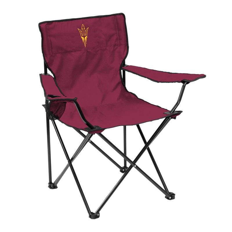 ... Our Arizona State University Team Logo Folding Quad Chair Is On Sale  Now.