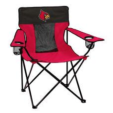 University of Louisville Team Logo Elite Folding Chair