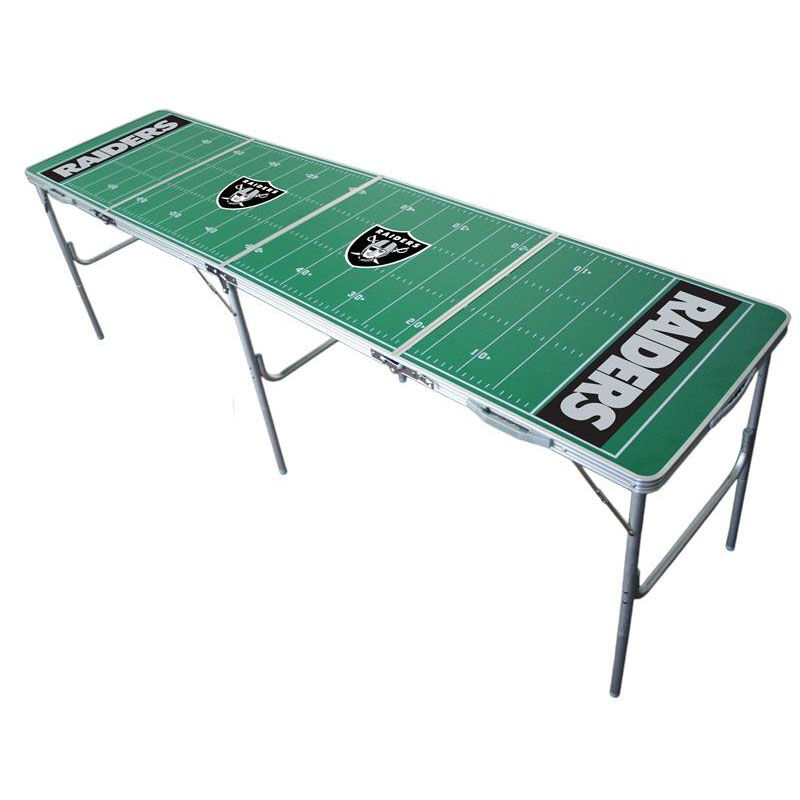... Our Oakland Raiders 2u0027x8u0027 Tailgate Table Is On Sale Now.