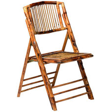 American Classic Bamboo Folding Chair - Set of 4