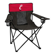 University of Cincinnati Team Logo Elite Folding Chair