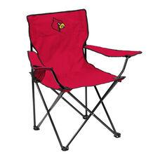 University of Louisville Team Logo Folding Quad Chair