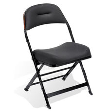 Contour Series Upholstered Seat and Back Folding Chair