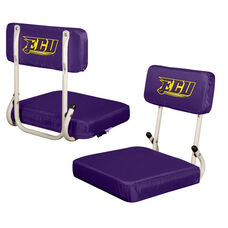 East Carolina University Team Logo Hard Back Stadium Seat
