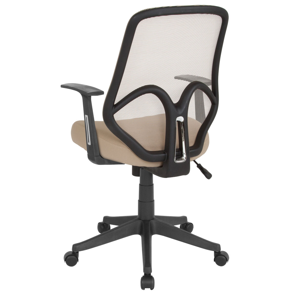 Our Rno Series High Back Light Brown Mesh Office Chair With Arms Is On Now