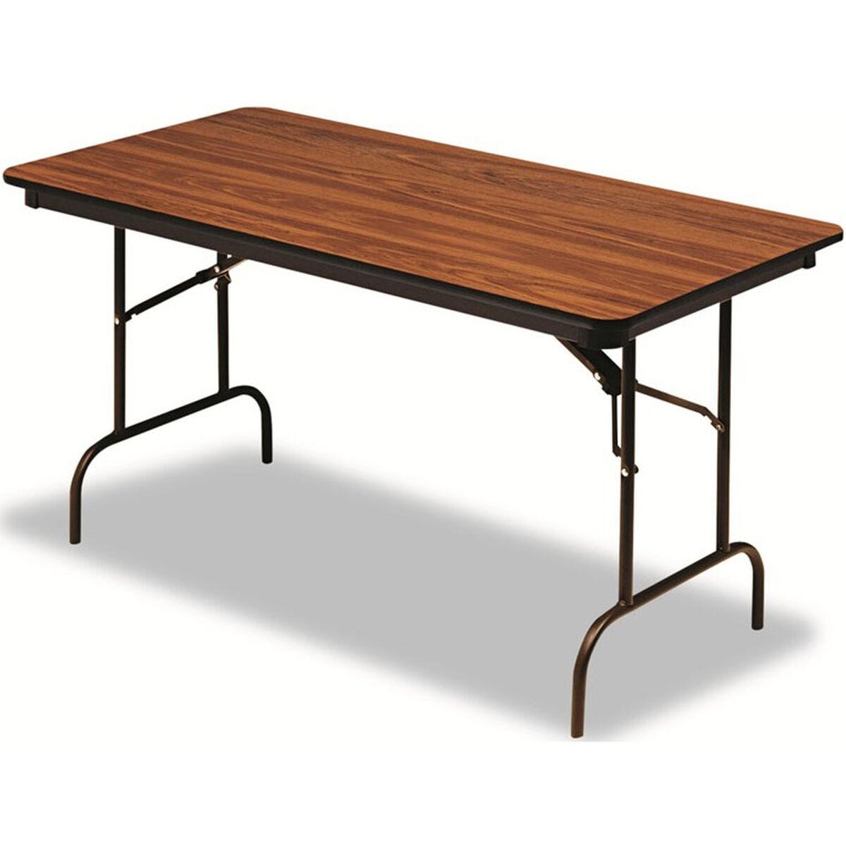 Iceberg premium 30 39 39 w x 72 39 39 d wood laminate folding for Nfpa 72 99 table 7 3 2