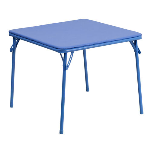 Our Kids Blue Folding Table is on sale now.