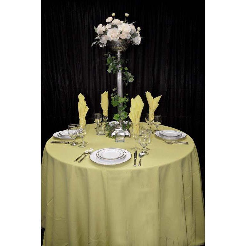 ... Our 60u0027u0027 X 60u0027u0027 Renaissance Stain Resistant Series Square Tablecloth    Buttercup