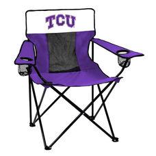 Texas Christian University Team Logo Elite Folding Chair