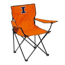 University of Illinois Team Logo Folding Quad Chair