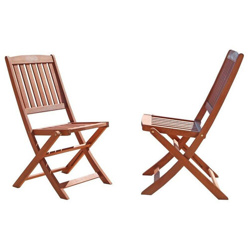Our Malibu Outdoor Wood Folding Bistro Chairs - Set of 2 is on sale now.
