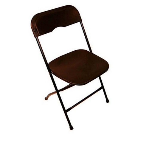 Our Champ Series Versatile Resin Wedding Folding Chair with Foot Caps - Black is on sale now.