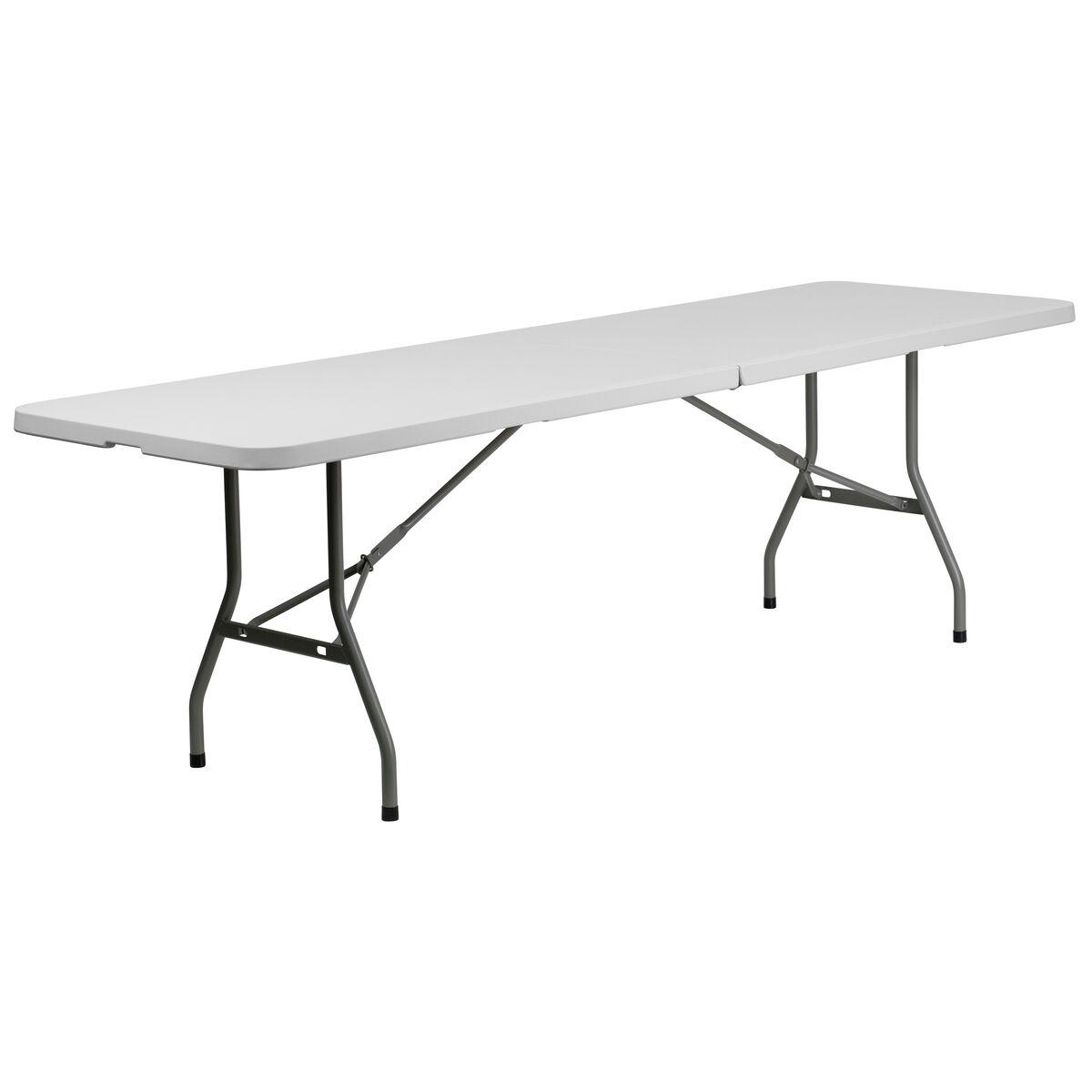 30x96 white plastic fold table rb 3096fh gg foldingchairs4less com