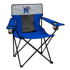 University of Memphis Team Logo Elite Folding Chair