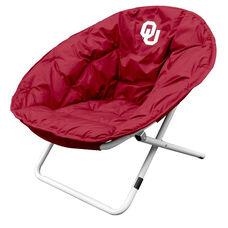 University of Oklahoma Team Logo Folding Sphere Chair