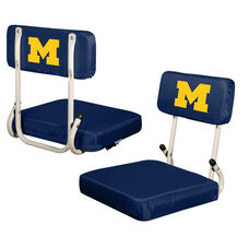 University of Michigan Team Logo Hard Back Stadium Seat