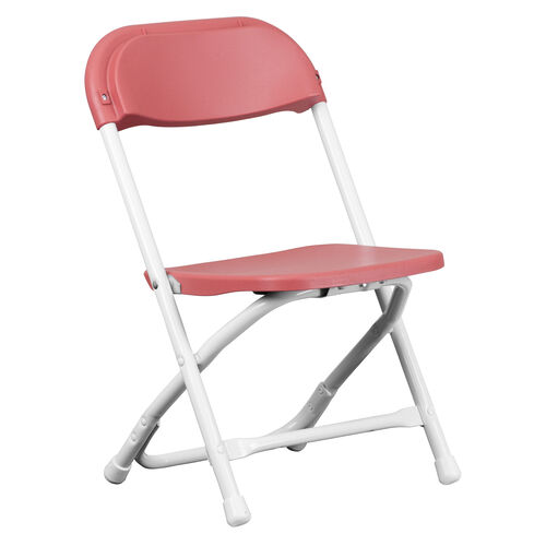 Our Kids Burgundy Plastic Folding Chair is on sale now.