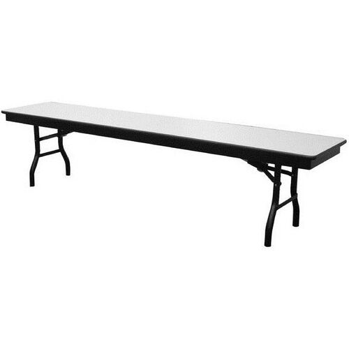 Our High Pressure Laminate Top Folding Cafeteria Bench with Particleboard Core and Rounded Frame Corners - 15