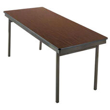 Customizable 700 Series Multi Purpose Rectangular Deluxe Hotel Banquet/Training Table with Plywood Core Top - 18