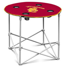 University of Southern California Team Logo Round Folding Table