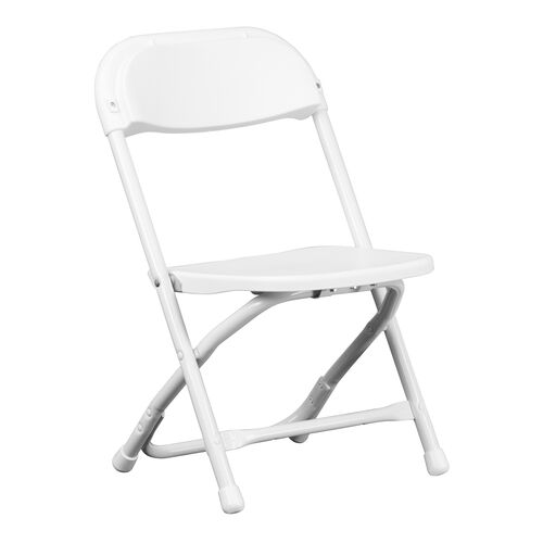 Our Kids White Plastic Folding Chair is on sale now.
