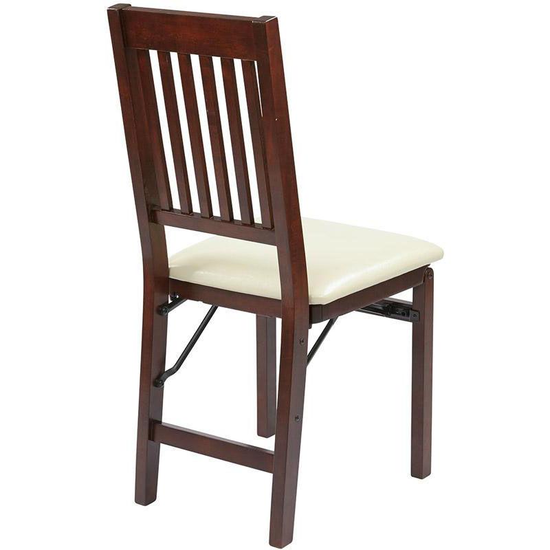 ... Our OSP Designs Hacienda U0027u0027Mission Backu0027u0027 Folding Chair   Set Of 2 ...