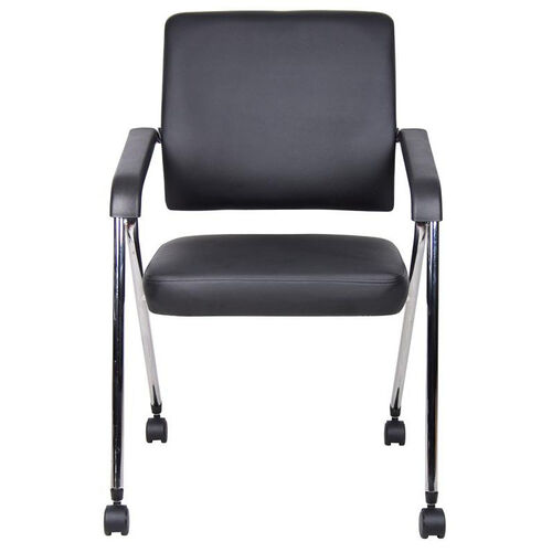 Our CaressoftPlus™ Nesting Training Chair with Chrome Frame - Set of 2 - Black is on sale now.