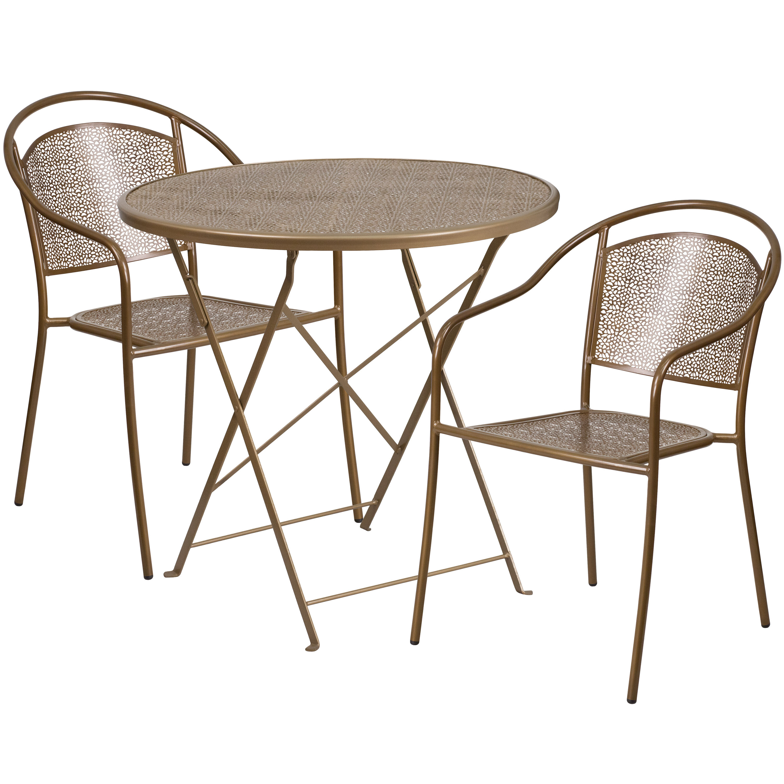 Folding patio chairs Extra Wide Images Folding Chairs Less 30rd Gold Fold Patio Set Co30rdf03chr2gdgg Foldingchairs4lesscom