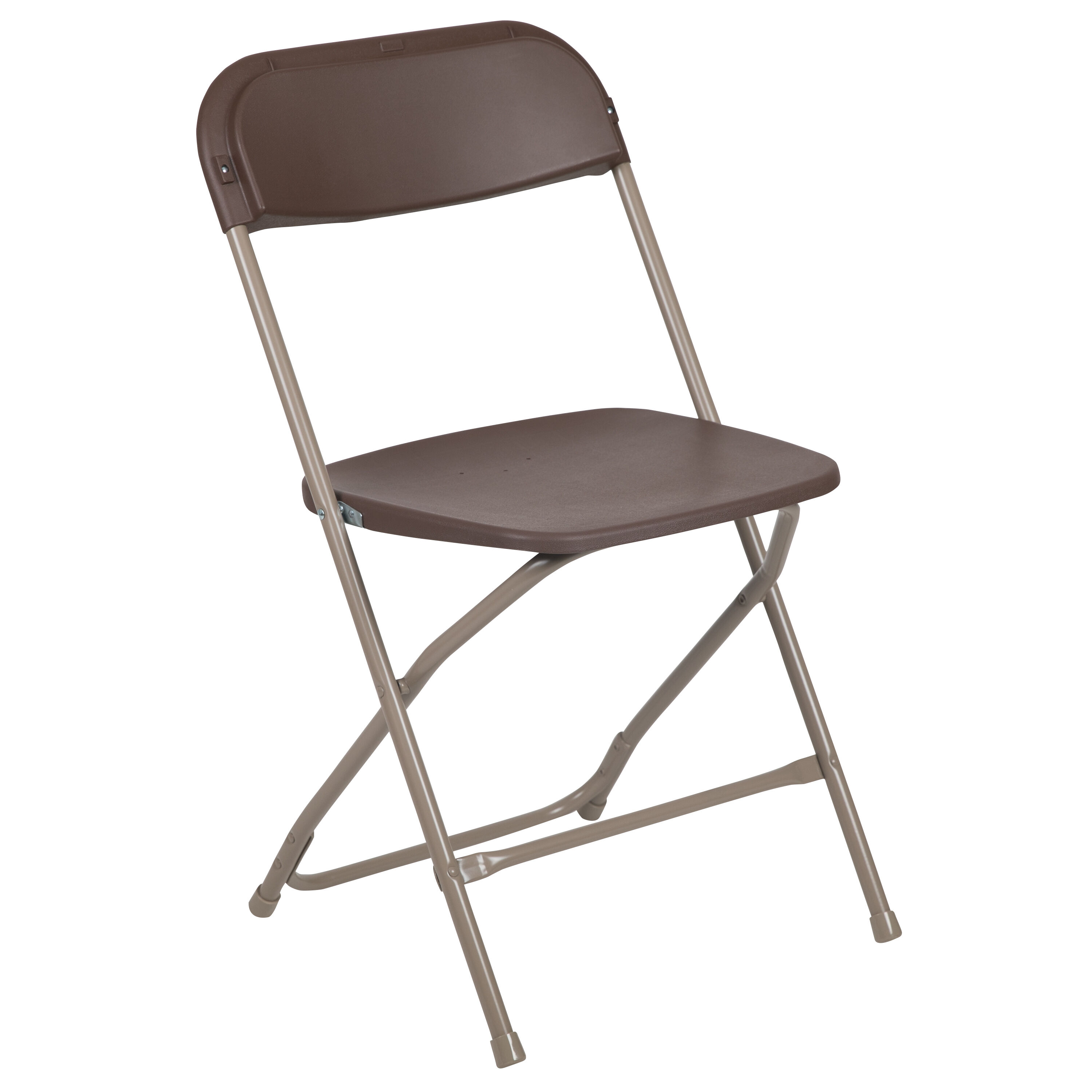 Beau Capacity Premium Brown Plastic Folding Chair Is On Sale Now. Tap To Expand