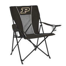 Purdue University Team Logo Game Time Folding Chair
