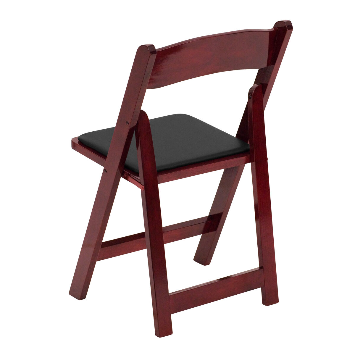 Mahogany Wood Folding Chair Xf 2903 Mah Wood Gg