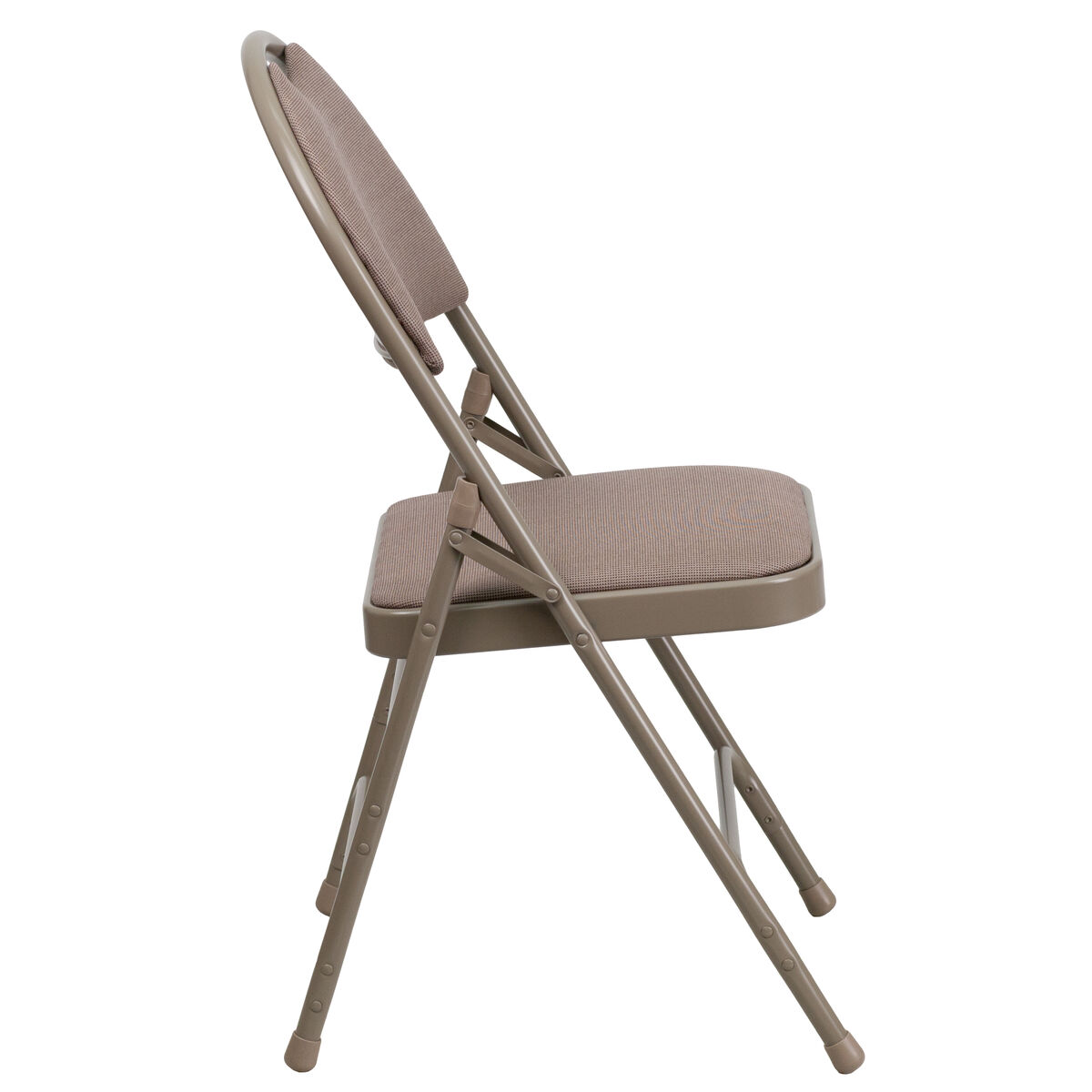 Beige Fabric Folding Chair Ha Mc705af 3 Bge Gg