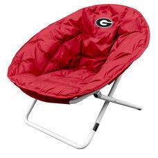 University of Georgia Team Logo Folding Sphere Chair