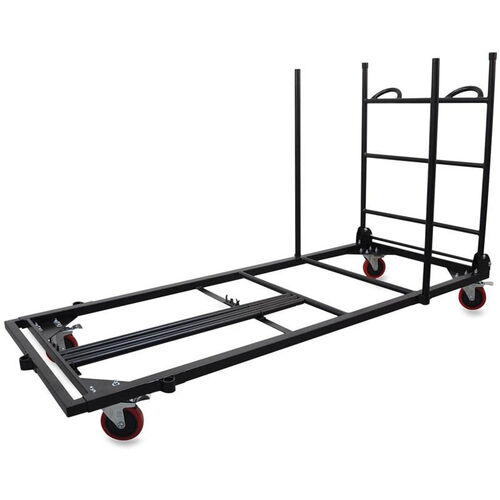 Our Lorell Rectangular Folding Table Trolley Cart 30