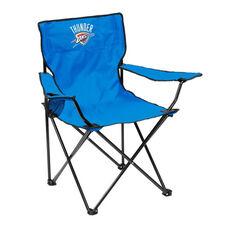 Oklahoma City Thunder Team Logo Folding Quad Chair