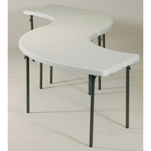 Our Blow-Molded Plastic Top Serpentine Buffet Table Grouping is on sale now.